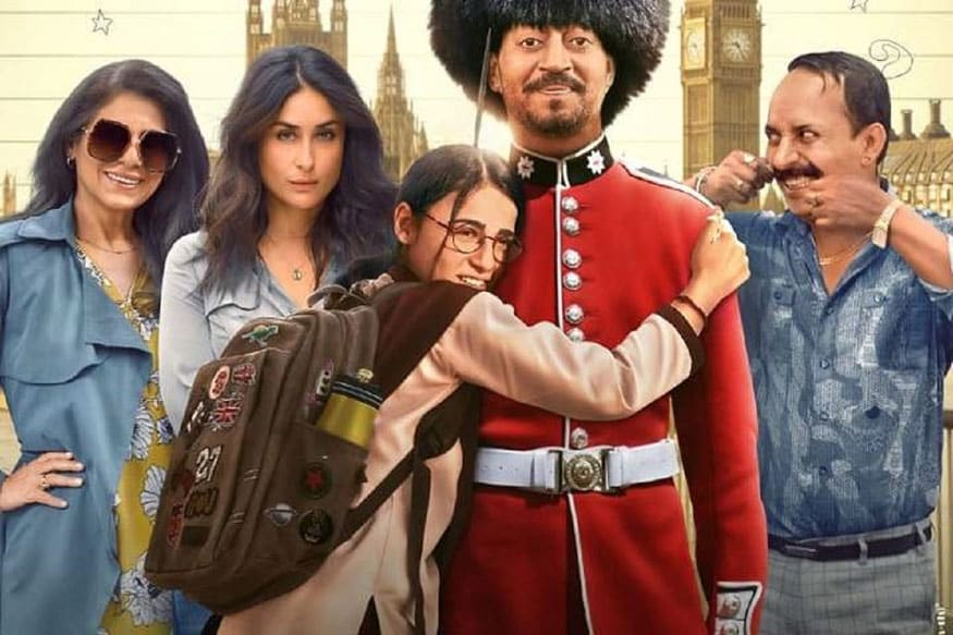 Angrezi Medium Starring Irrfan, Kareena Kapoor and Radhika Madan ...