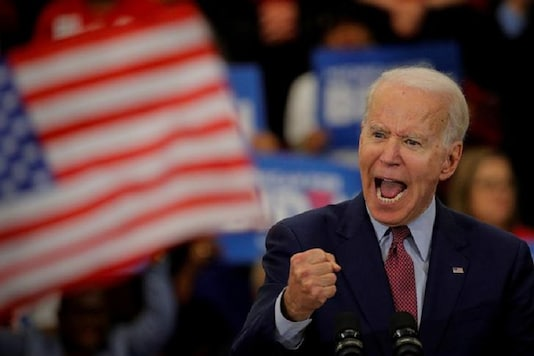 File photo of Democratic US presidential candidate and former Vice President Joe Biden. (Reuters)