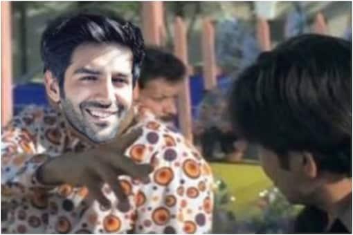 Kartik Aaryan meme