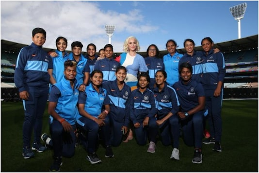 Katy Perry and Team India