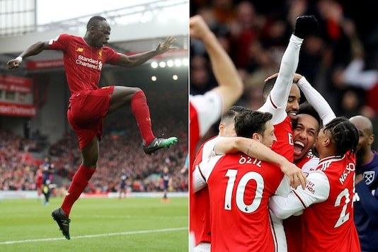 Liverpool and Arsenal (Photo Credit: Reuters)