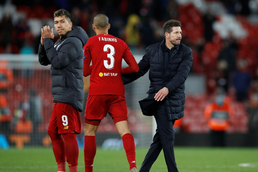 Champions League Holders Liverpool Dumped Out by Atletico Madrid in Round of 16 - News18