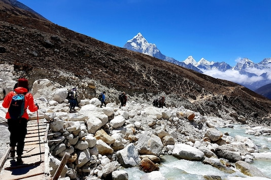 A still from Everest Base Camp archives.