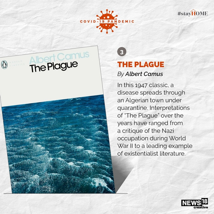 The Plague by Albert Camus. (Image: News18 Creative)