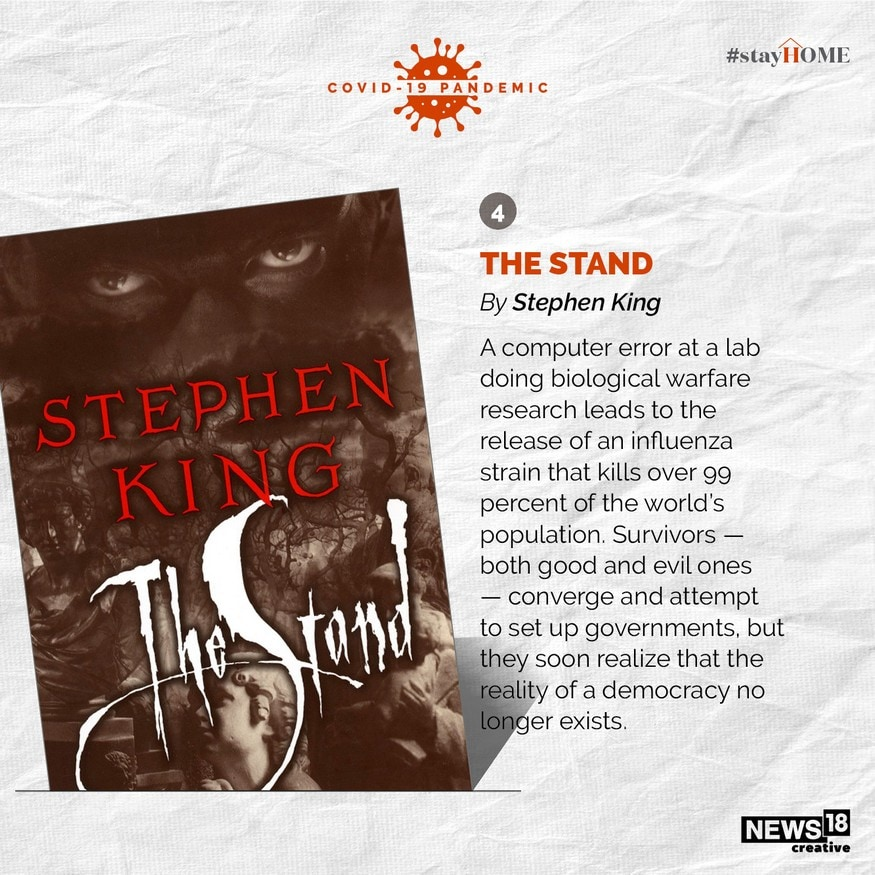 The Stand by Stephen King. (Image: News18 Creative)
