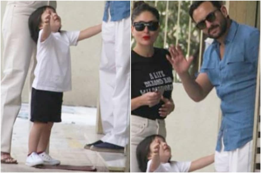 Fans Want to Hold Taimur as He Extends Arms for Saif Ali Khan in Viral Pic, See
