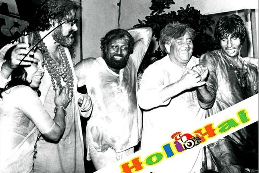 Amitabh Bachchan Gets Nostalgic As He Shares Throwback Pictures of Best Holi Celebrations thumbnail