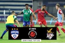 ISL 2019-20 HIGHLIGHTS, Bengaluru FC vs ATK Semi-final: Brown Gives Bengaluru 1-0 Win