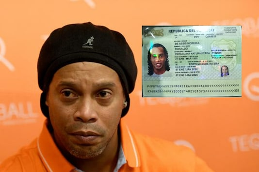 Ronaldinho arrested with 'fake' passport in Paraguay (Photo Credit: Reuters/Twitter)