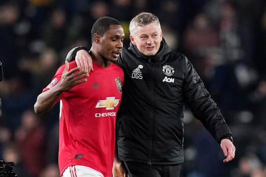 Odion Ighalo and Ole Gunnar Solskjaer (Photo Credit: Reuters)