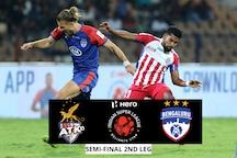 ISL HIGHLIGHTS, ATK vs Bengaluru FC Semi-final 2nd Leg: Williams Double Helps ATK Book Place in Final