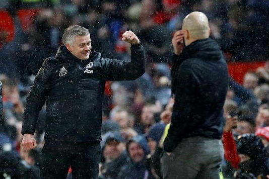 Ole Gunnar Solskjaer, Pep Guardiola (Photo Credit: Reuters)