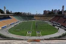 Stadium in Sao Paulo Turning into 'Open-air' Hospital for Coronavirus Patients