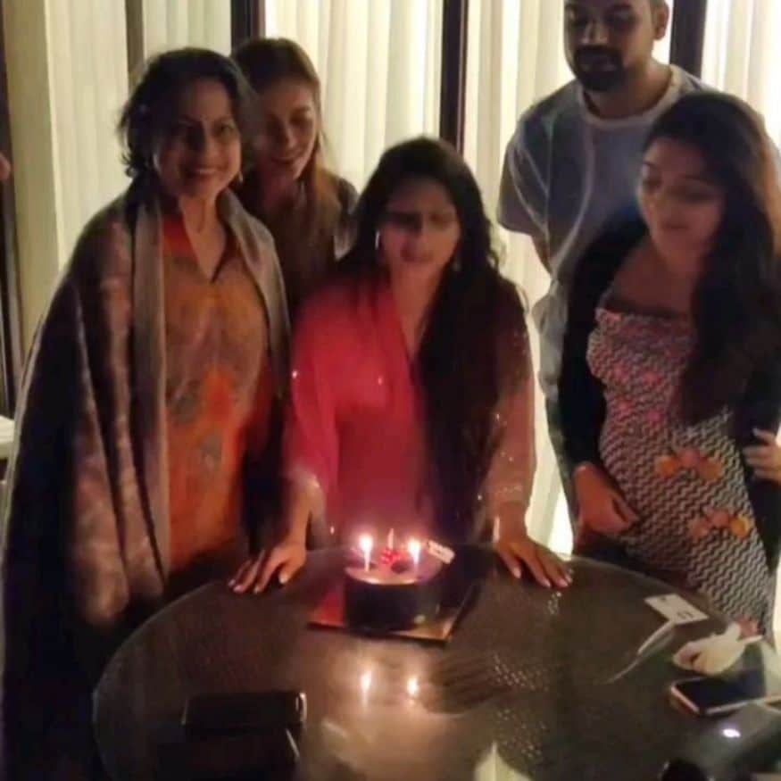 Bollywood actress and Kajol's younger sister Tanishaa Mukerji celebrated her 42nd birthday in Alibaug with her BFFs. She shared a glimpse from her birthday celebrations with her fans via Instagram. In the carousel of pictures, Tanishaa is seen having a gala time with her girl gang. Take a look at the pictures... (Image: Instagram)
