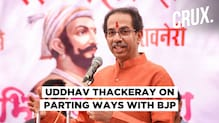 Maharashtra CM Uddhav Thackeray: Left BJP, Not Hindutva