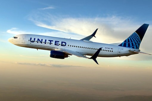 File photo of an United Airlines flight. (Image Source: IANS)