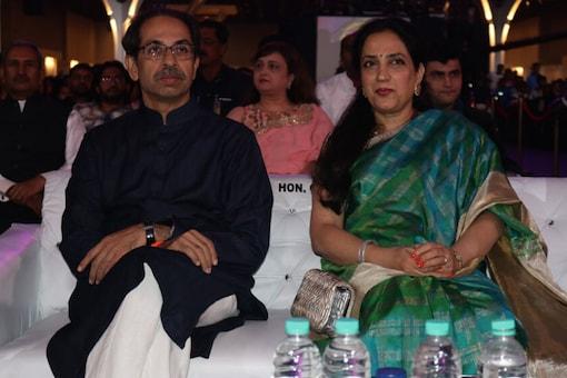File photo of Maharashtra CM Uddhav Thackeray and his wife Rashmi Thackeray.