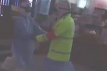 WATCH: Nurse, Cop in Protective Gear Shake a Leg After Work in Coronavirus-hit Wuhan