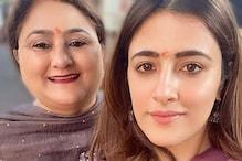 Nupur Sanon Visits Mumbai's Siddhivinayak Temple With Mother