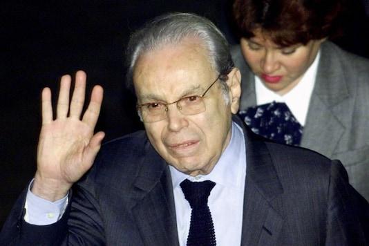 File photo of  Javier Perez de Cuellar. (Reuters)