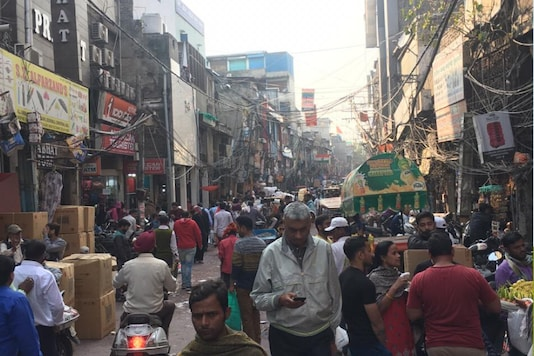 Traders says if there were 100 customers on daily basis till about a month ago, these days, there are less than 30 buyers around. (News18)