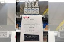 Denmark Supermarket Resorts to Genius Price Trick to Keep Hand Sanitiser Hoarding in Check