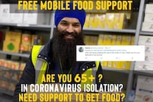Sikhs Are Delivering Free Food to the Elderly in Self Isolation Amid Coronavirus Outbreak in UK