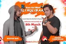 #VMateAsliHolibaaz trailer out: Bhuvan Bam takes on Ashish Chanchlani this Holi