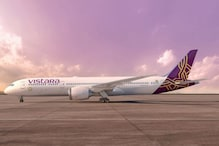 First Photos of Vistara's Boeing 787-9 Dreamliner