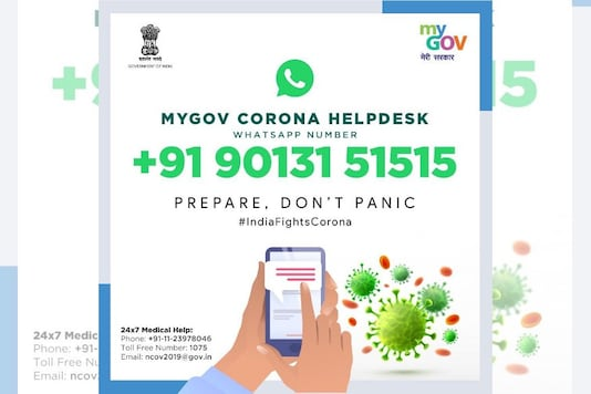 #StayHome: WhatsApp MyGov Corona Helpdesk is an Official Chatbot to Clear Your Queries About COVID