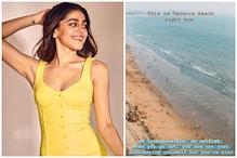 Alaya F Shares Video of 'Selfish, Irresponsible' People Playing on Versova Beach Despite Lockdown