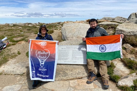 She accomplished her expedition up the Australian mountain along with co-climber Shobhit Sharma.