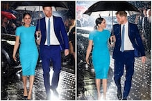 'Dreamy' Photo of Prince Harry and Meghan Markle Sharing an Umbrella is Giving Twitter Couple Goals
