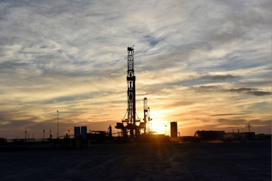 Drilling rigs in operation(Reuters). Representative image