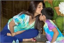 Shilpa Shetty Shares Fun Tie-and-dye Session with Son During Coronavirus Self-quarantine