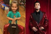 Karan Johar's Daughter Calls His Awards Outfit 'Girl's Clothes'