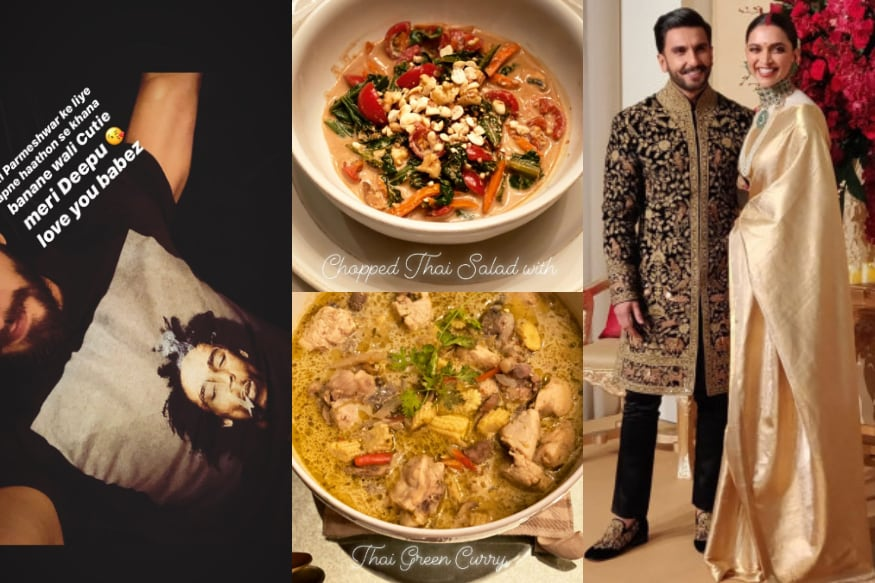 Deepika Padukone Turns Masterchef For Hubby Ranveer Singh, Cooks Thai Curry thumbnail