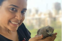 Swara Bhasker Rescues A Baby Black Kite, Names It 'Changez'