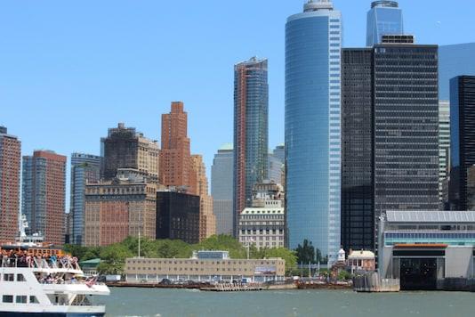 File photo of the New York skyline. (Photo credit: Binoo K John)