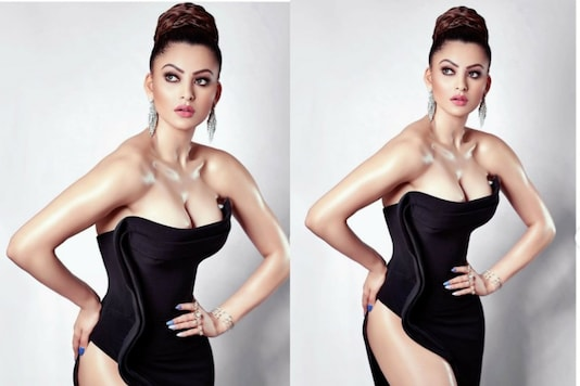 Urvashi Rautela Stuns in Killer Black Outfit, See Here