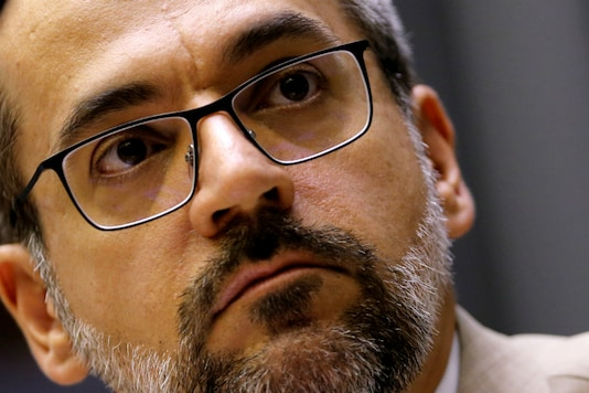 File photo of Brazil's Education Minister Abraham Weintraub. (Reuters)