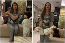 Shweta Tiwari's Daughter Palak Uses Baby Brother as Weight to Work Her Biceps and Back
