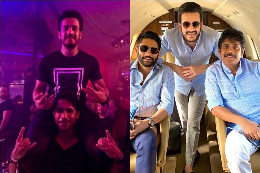 Happy Birthday Akhil Akkineni: His 5 Best Instagram Moments With Family