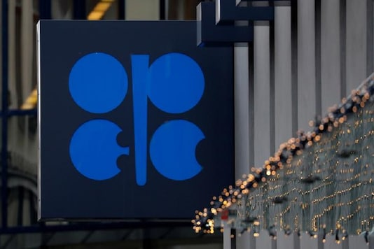 The logo of the Organisation of the Petroleum Exporting Countries (OPEC) sits outside its headquarters ahead of the OPEC and NON-OPEC meeting, Austria. (Reuters)