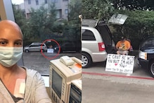 Man 'Separated' from His Wife Due to Coronavirus Waits Outside Hospital With a Wholesome Sign