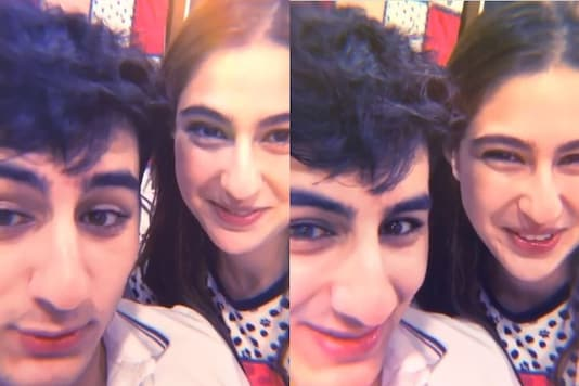 Sara Ali Khan Does 'Knock-knock' Joke with Ibrahim Ali Khan, His Reaction will Leave You in Splits