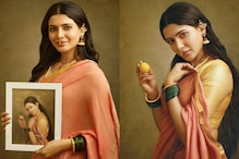 Samantha Akkineni is an Exquisite Oeuvre in this Still from Raja Ravi Varma's Replication