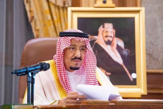For representation only: Saudi King Salman bin Abdulaziz Al Saud (Reuters)