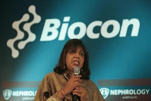 File photo of Kiran Mazumdar-Shaw, chairman and managing director of Biocon Ltd. REUTERS/Jagadeesh Nv (INDIA)