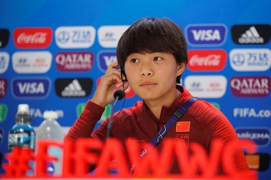 Wang Shuang (Photo Credit: Reuters)